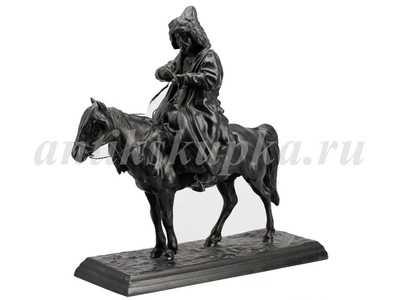 Киргиз на лошади Куса