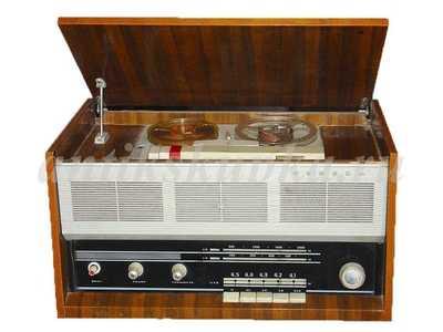 Старинная антикварная радиола