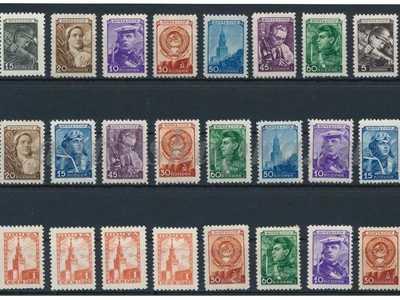 Набор марок СССР