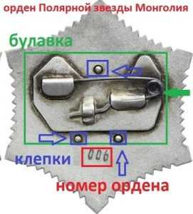 орден монголия