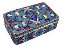 табакерка серебро