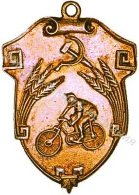 Спортивные знаки и жетоны