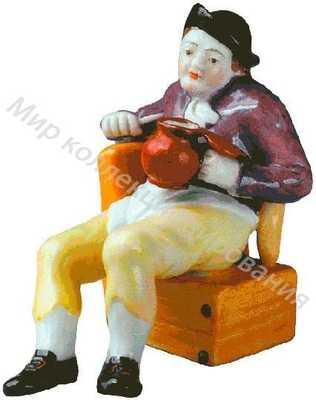 Голландский крестьянин с кружкой