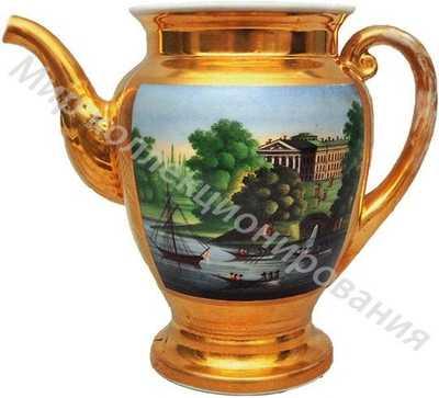 Чайник с видом Павловска