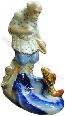 Сказочный персонаж Старик и золотая рыбка