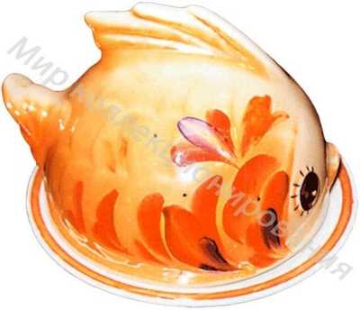 Масленка «Рыбка»