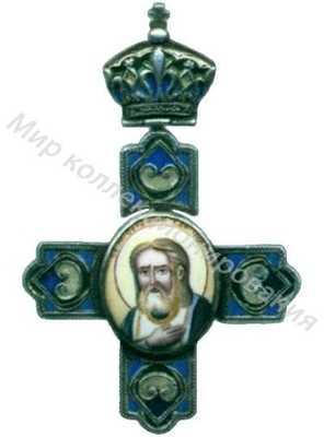 Крест с изображением Св.Серафима Саровского