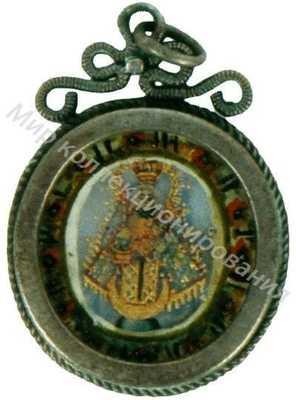 Подвеска с изображением православного образа
