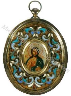 Подвеска с изображением Христа Вседержителя
