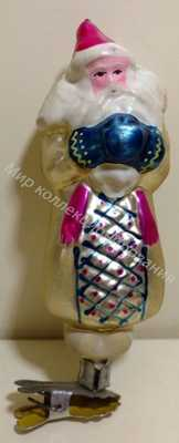 Елочная игрушка Морозко Артель Культигрушка 1950-е