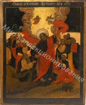 Икона Воскресение Христово, Центральная Россия,18ый