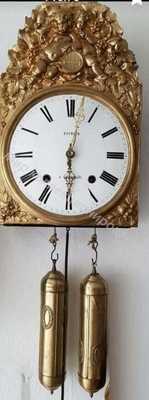 Старинные французские настенные часы