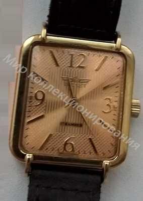 Часы  Полет  золотые 585 проба золото