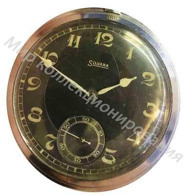 Часы карманные SILVANA Швейцария