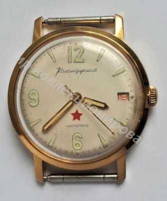 Часы механические СССР Командирские
