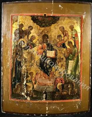 Икона Господа  Седмица Спас на Престоле