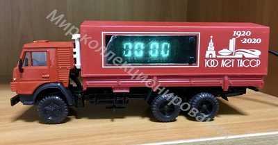 КАМАЗ 53212 Часы Элекон  100 лет ТАССР  1 43