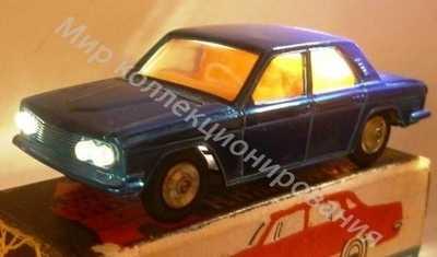 Модель Волга ГАЗ Горький 4 светодиодные фары, в коробке.