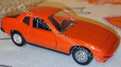 Ремейк СССР Порше 924 Porsche Schuco Шуко