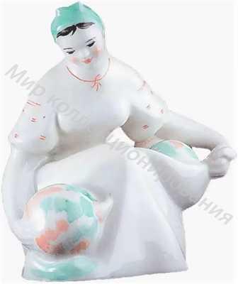 Статуэтка Девушка с арбузами Барановка