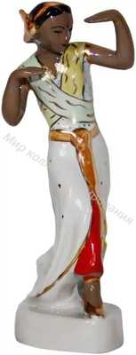 Статуэтка Индийский танец Барановка