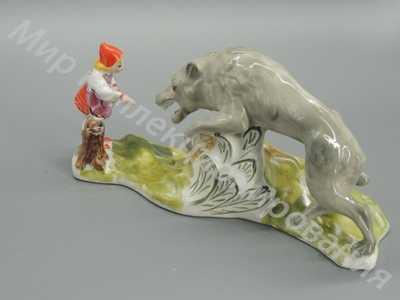 Статуэтка Красная шапочка Барановка