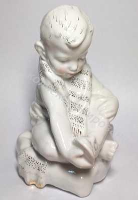 Статуэтка Мальчик с полотенцем Песочное