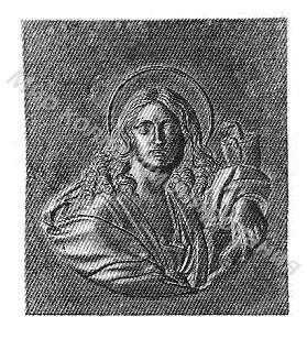 Барельеф Апостол Иоан Богослов