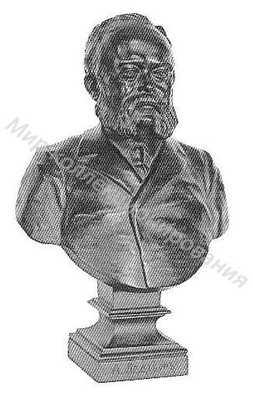 Бюст Портрет А. Ледебура