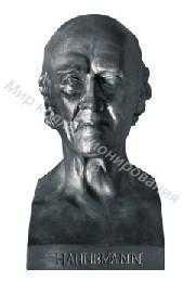Чугунная статуэтка бюст 69