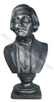 Чугунная статуэтка бюст 72