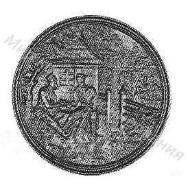 Медальон Сцена из поэмы Пан Тадеуш А. Мицкевича