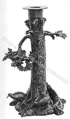 Подсвечник Вальдшнепы под сломанным деревом