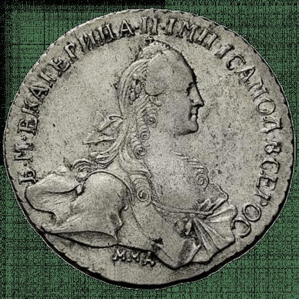 1 рубль 1767 года ММД АШ