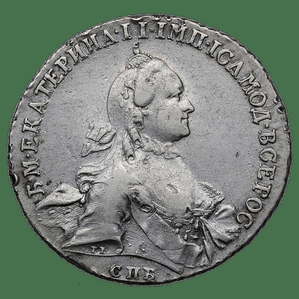 1 рубль 1763 СПБ НК TI