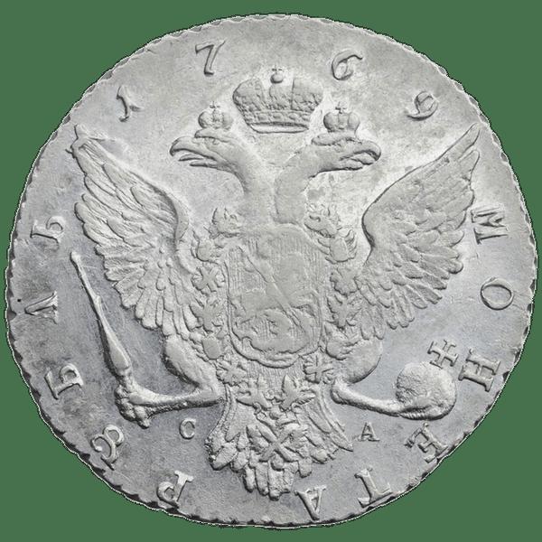 1 рубль 1769 года СПБ СА TI