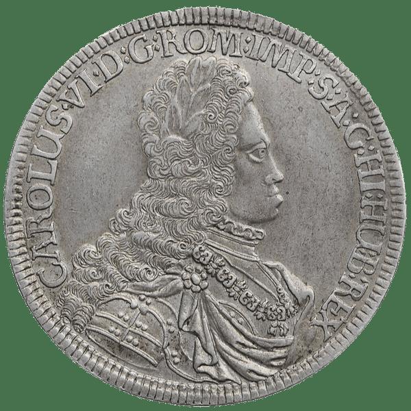1 талер 1716 года. Австрия. Карл VI