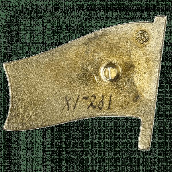 Знак депутата Молдавской ССР «Советул Супрем Ал РССМ». 1967 год