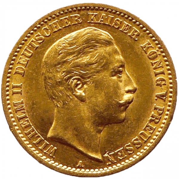 10 марок 1910 года. Германская Империя. Пруссия