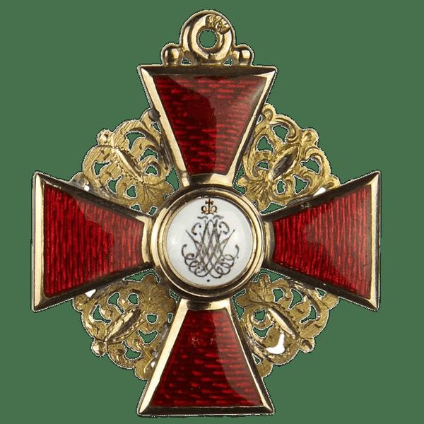 Знак ордена Святой Анны