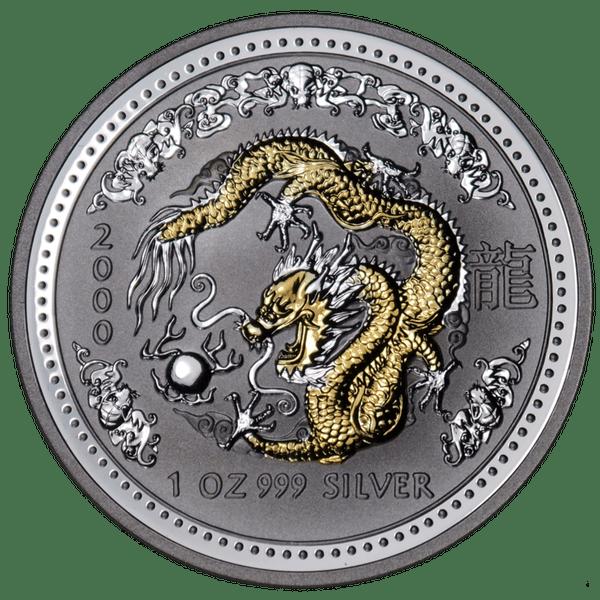 1 доллар 2000 года «Год Дракона. Лунар». Австралия