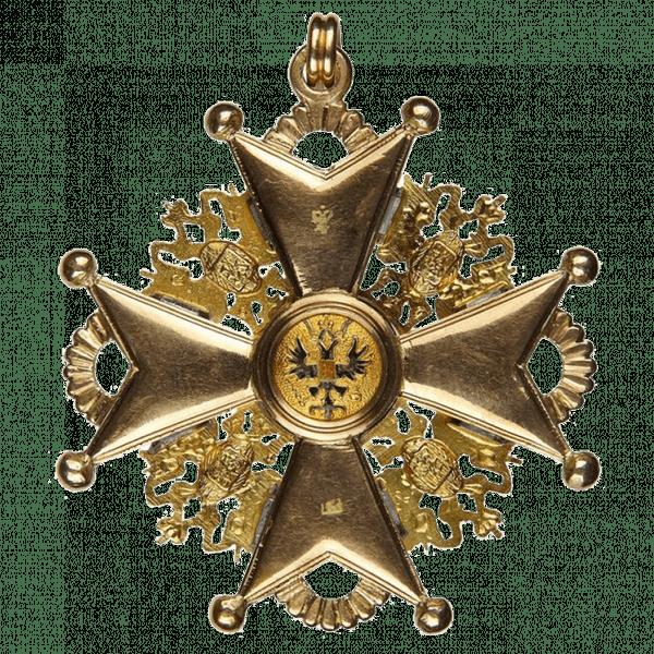 Знак ордена Святого Станислава I степени для иноверцев