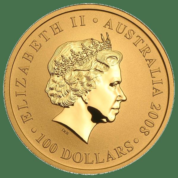 100 долларов 2008 года «Кенгуру». Австралия