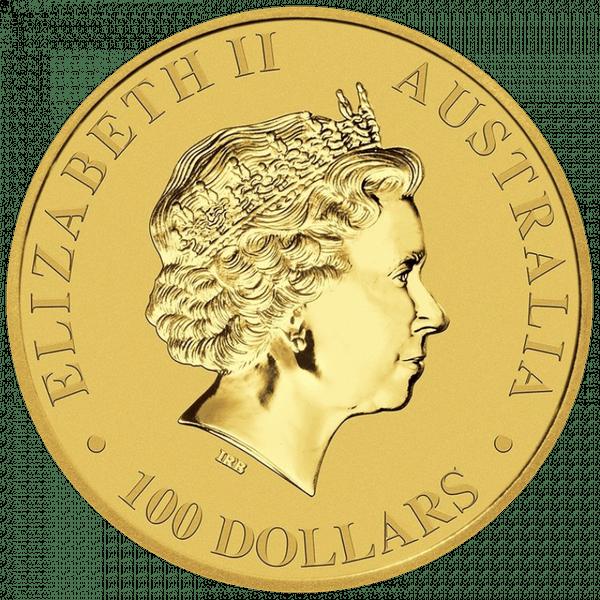 100 долларов 2017 года «Кенгуру». Австралия