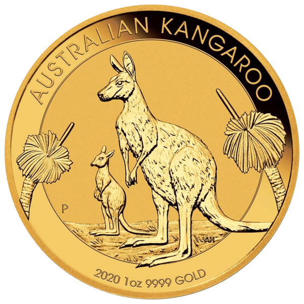 100 долларов 2020 года «Кенгуру». Австралия