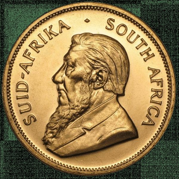1 крюгерранд 1977 года. Южная Африка. ЮАР