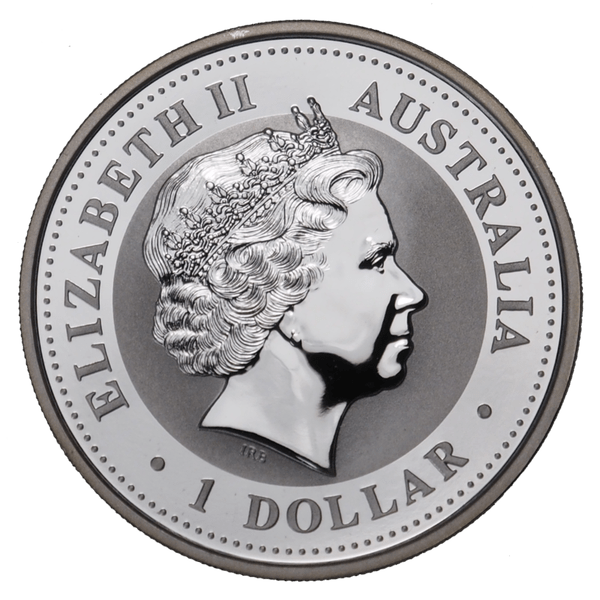1 доллар 2002 года «Год Лошади. Лунар». Австралия