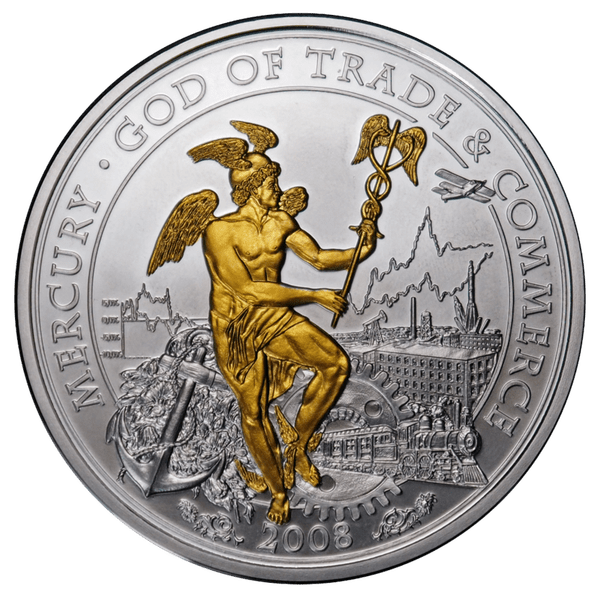 10 долларов 2008 года «Меркурий»