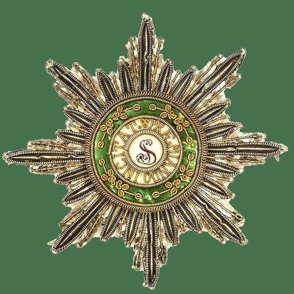Звезда ордена Святого Станислава 1890 год
