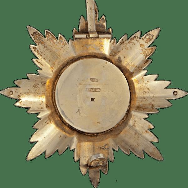 Звезда ордена Святого Владимира. 1860 год